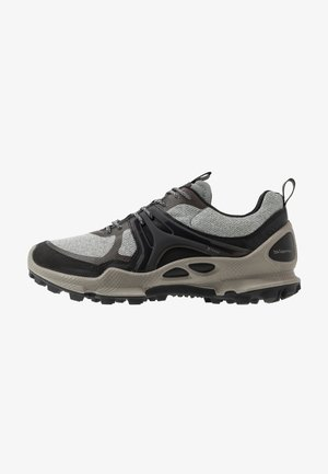 BIOM C-TRAIL - Hiking shoes - black/wild dove