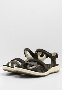 ecco - CRUISE II - Walking sandals - black - 2