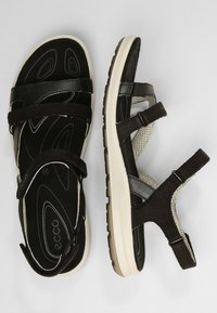 ecco - CRUISE II - Walking sandals - black