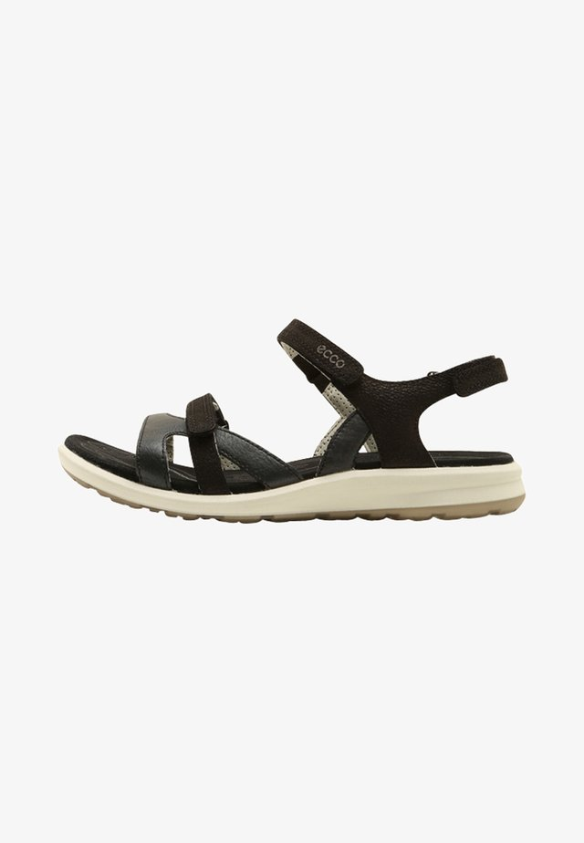 CRUISE II - Walking sandals - black