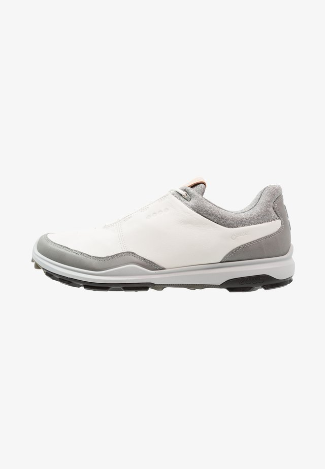 BIOM HYBRID 3 - Obuwie do golfa - white/black