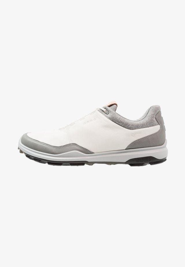 BIOM HYBRID 3 - Chaussures de golf - white/black