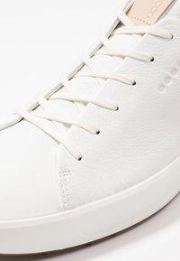 ecco - SOFT - Golfskor - bright white - 5