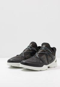 ECCO - BIOM STREET - Hiking shoes - black/dark shadow/wild dove - 4