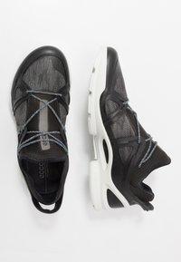 ECCO - BIOM STREET - Hiking shoes - black/dark shadow/wild dove - 3