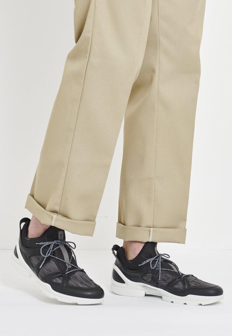 ECCO - BIOM STREET - Hiking shoes - black/dark shadow/wild dove