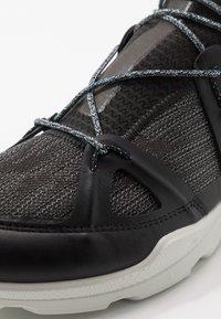 ECCO - BIOM STREET - Hiking shoes - black/dark shadow/wild dove - 2