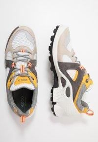 ECCO - BIOM C-TRAIL - Hiking shoes - gravel/merigold/white - 1