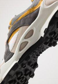 ECCO - BIOM C-TRAIL - Hiking shoes - gravel/merigold/white - 5