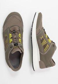 ECCO - EXOSTRIDE  - Hiking shoes - warm grey/sulphur - 1