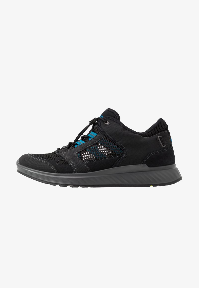 ECCO - EXOSTRIDE  - Hiking shoes - black/olympian blue