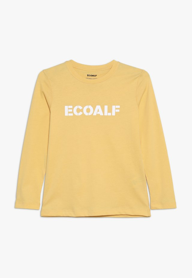 SLEEVE - Langarmshirt - dark yellow