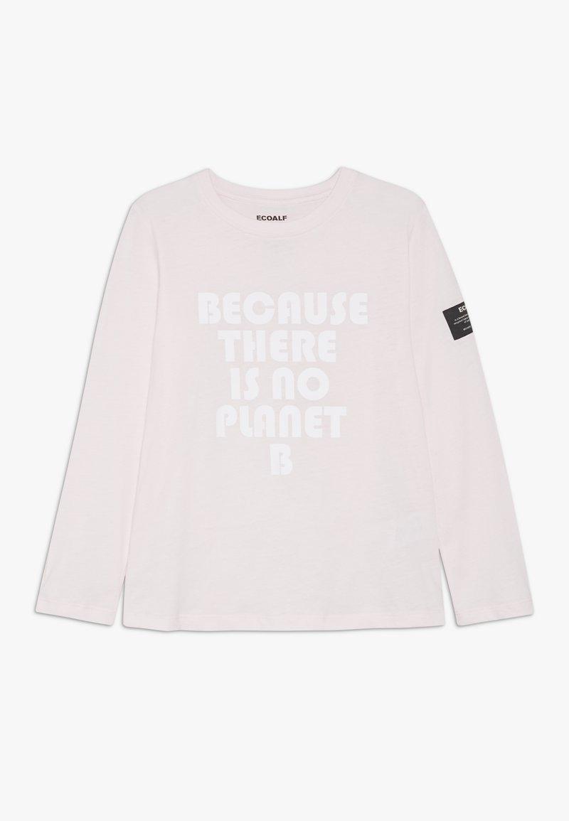 Ecoalf - SLEEVE - Top sdlouhým rukávem - light pink