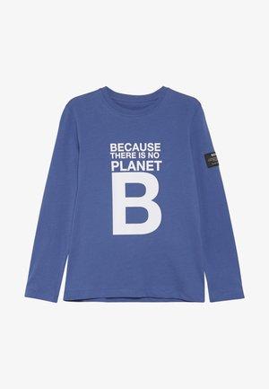 SLEEVE - Camiseta de manga larga - blue melange