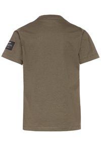 Ecoalf - NATAL GREAT KIDS - T-shirt con stampa - khaki - 1