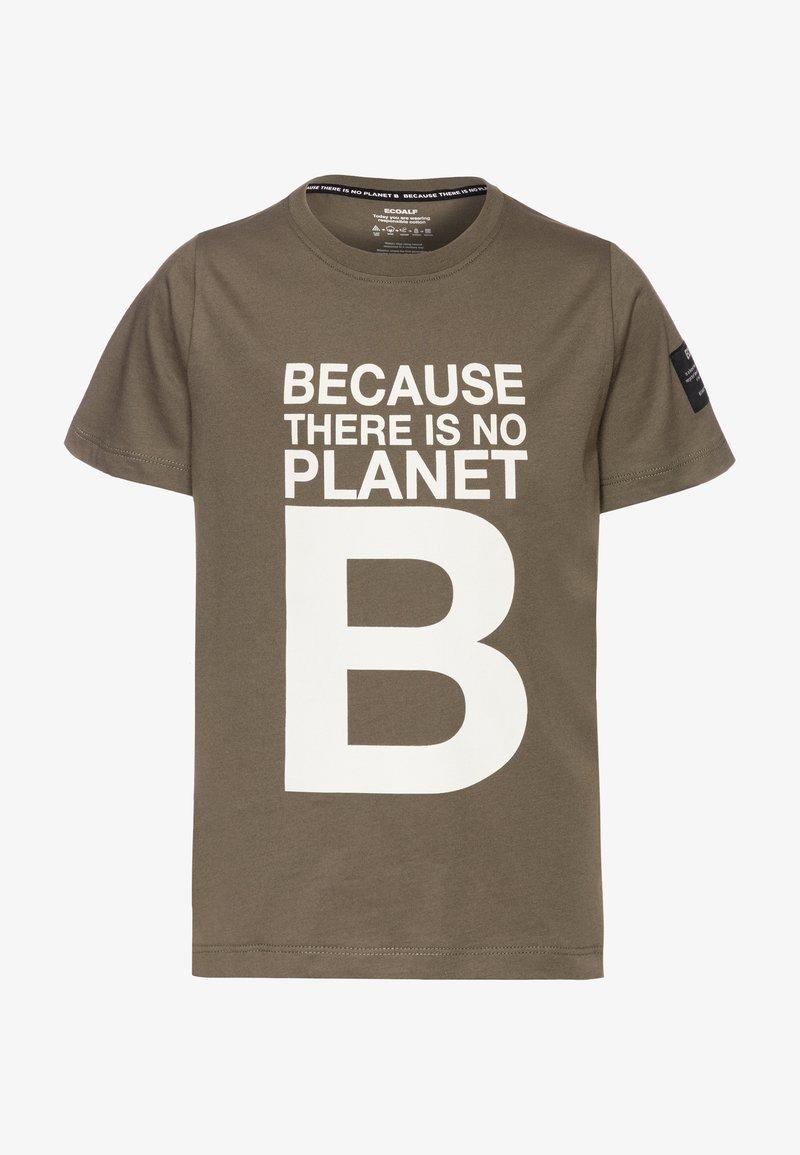 Ecoalf - NATAL GREAT KIDS - T-shirt con stampa - khaki