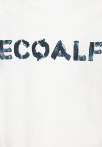Ecoalf - LOWER KIDS - Camiseta estampada - offwhite - 2