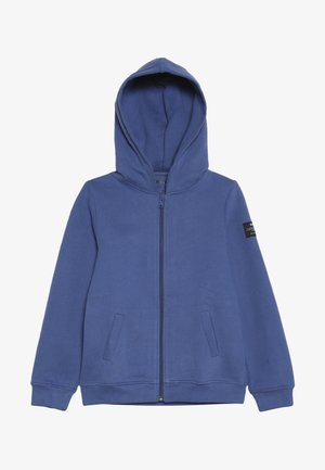 HOODIE - Mikina na zip - blue