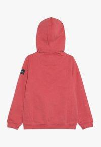 Ecoalf - HOODIE - veste en sweat zippée - granate - 1