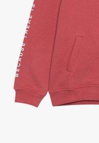 Ecoalf - HOODIE - veste en sweat zippée - granate - 3