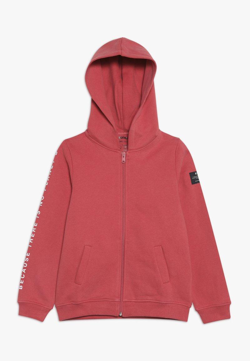 Ecoalf - HOODIE - veste en sweat zippée - granate