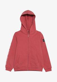 Ecoalf - HOODIE - veste en sweat zippée - granate - 2