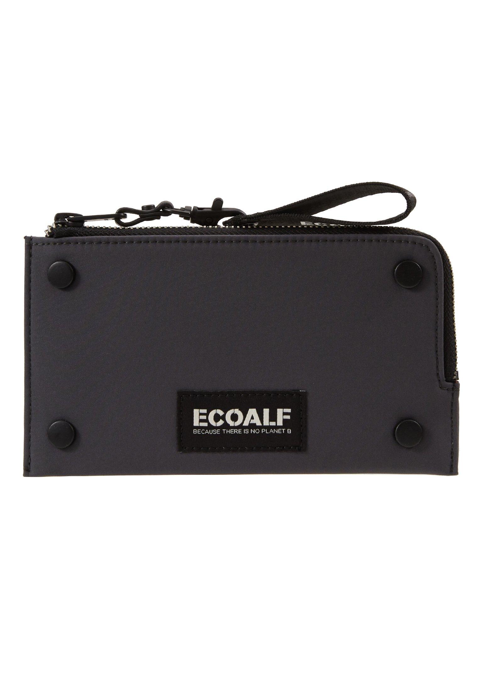 Ecoalf FLAT STUD WALLET - Lommebok - caviar