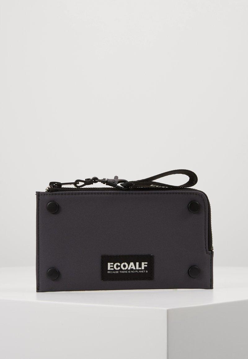 Ecoalf - FLAT STUD WALLET - Peněženka - caviar
