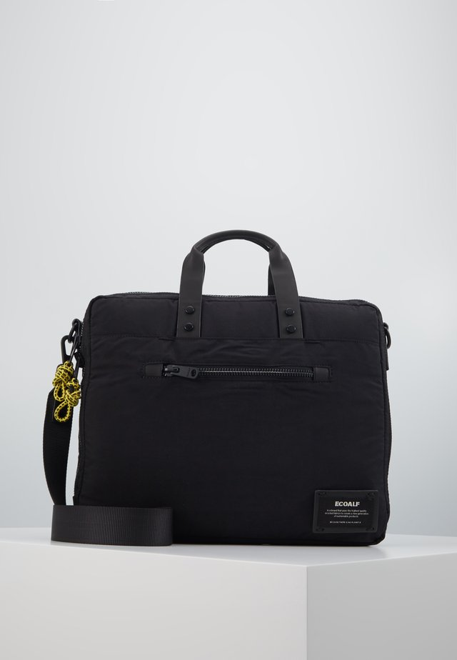 LION BRIEFCASE - Aktówka - black
