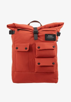 MULTIPOCKET BACKPACK - Rugzak - burned orange