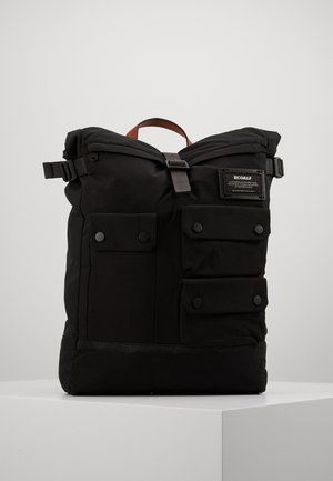 MULTIPOCKET BACKPACK - Reppu - black