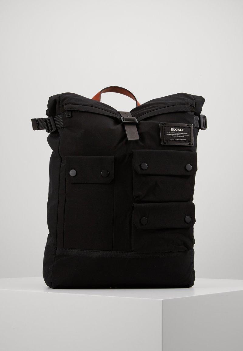 Ecoalf - MULTIPOCKET BACKPACK - Reppu - black