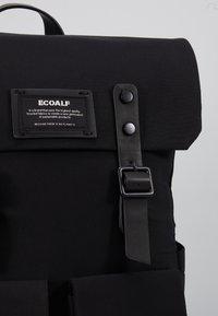 Ecoalf - ZERMAT BACKPACK - Rucksack - black - 5