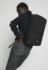 Ecoalf - SIMPLY TECH BACKPACK - Reppu - black - 1