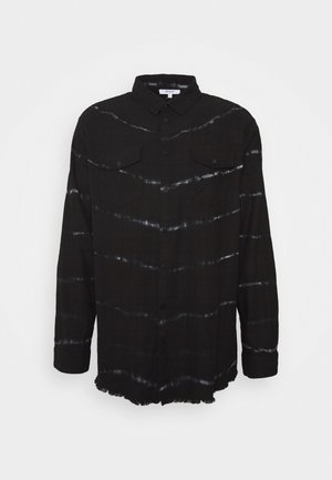 BEACTON - Koszula - black batic