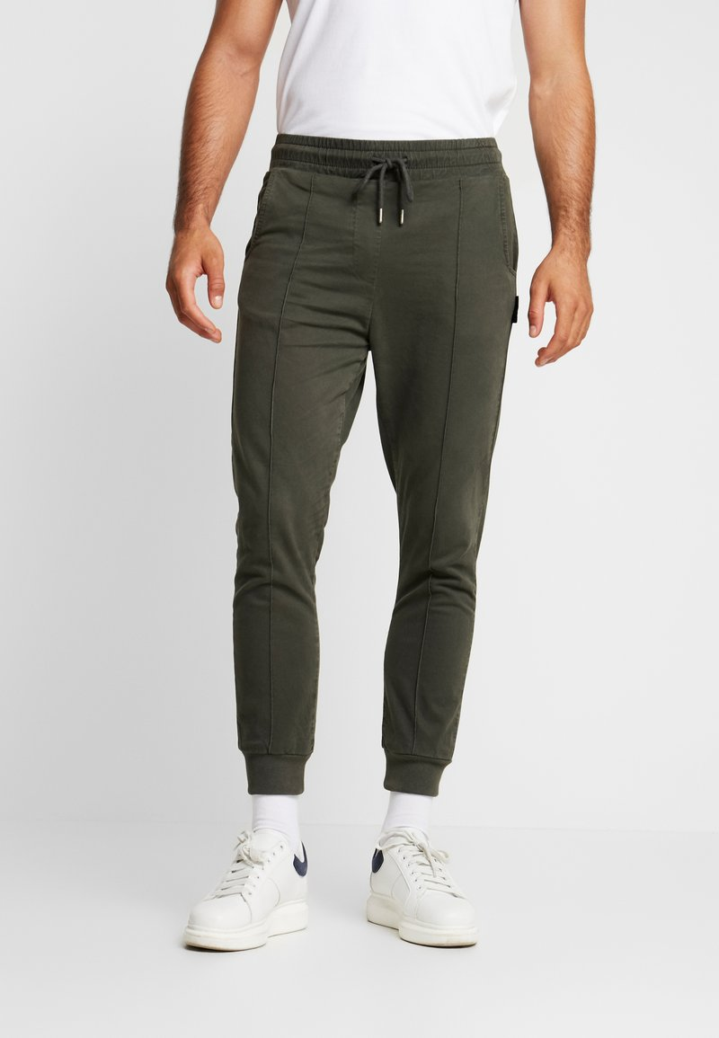 Be Edgy - BELUNIK - Jeans Tapered Fit - khaki