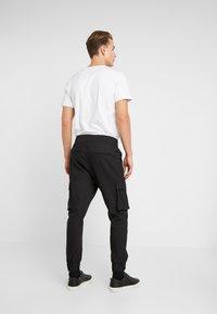 Be Edgy - LORENZ - Pantalones cargo - black - 2