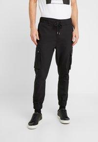 Be Edgy - LORENZ - Pantalones cargo - black - 0