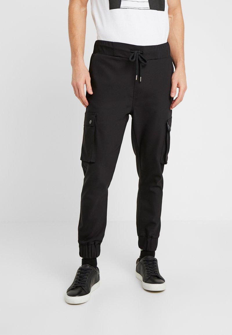 Be Edgy - LORENZ - Pantalones cargo - black