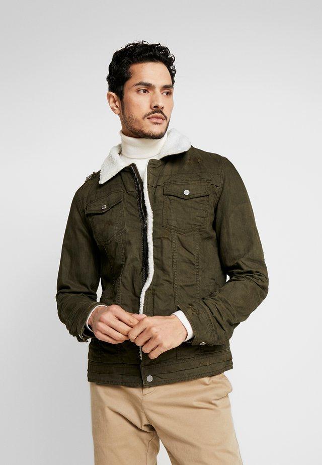 BEKELVYN  - Denim jacket - khaki