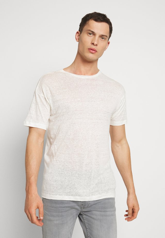 BEJAKE - T-shirt con stampa - offwhite