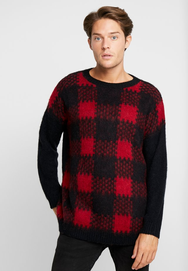TIMO - Strickpullover - red
