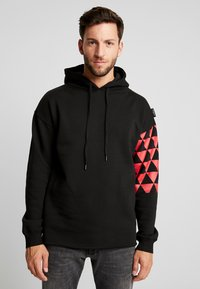 Be Edgy - BEADRIAN - Kapuzenpullover - black triangle - 0