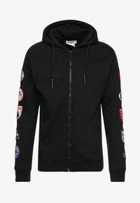 Be Edgy - BEWOLLF - veste en sweat zippée - black - 4