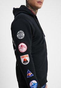 Be Edgy - BEWOLLF - veste en sweat zippée - black - 5