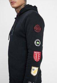 Be Edgy - BEWOLLF - veste en sweat zippée - black - 3