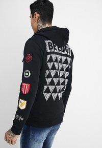 Be Edgy - BEWOLLF - veste en sweat zippée - black - 2