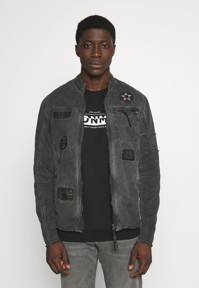 BE THEO PAT - Jeansjakke - schwarz