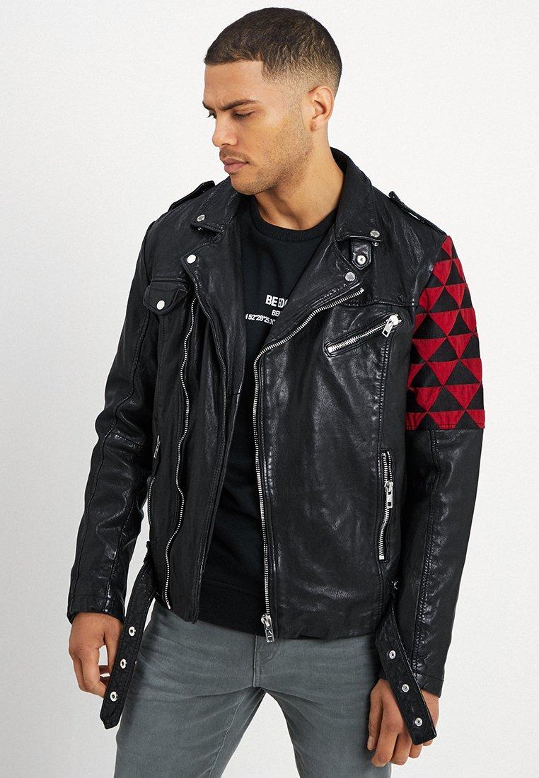 Be Edgy - BEWARD - Leather jacket - black