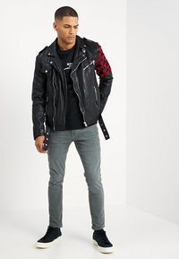 Be Edgy - BEWARD - Lederjacke - black - 1
